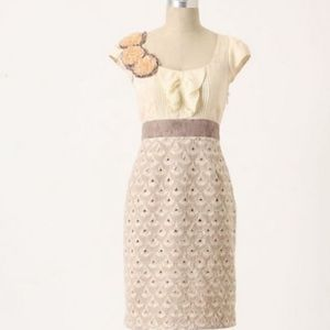 Anthropologie Floreat lace dress